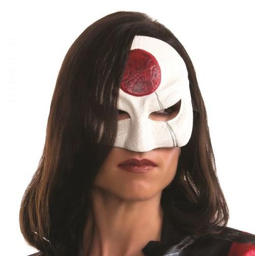Suicide Squad Licensed Katana Frontal 1/2 Mask