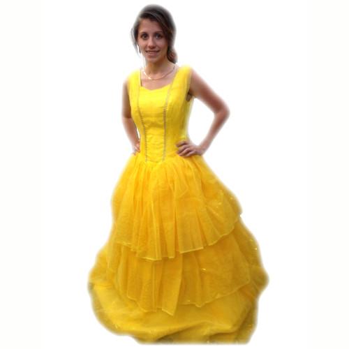 Rent: Belle of the Ball Yellow Princess Dress