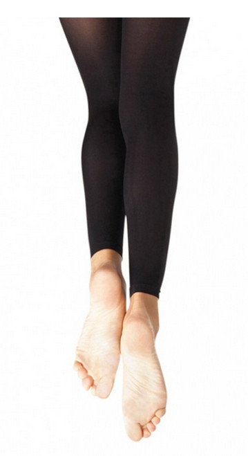 Capezio Adult Footless Ultra Soft Tights Knit Waistband 1917