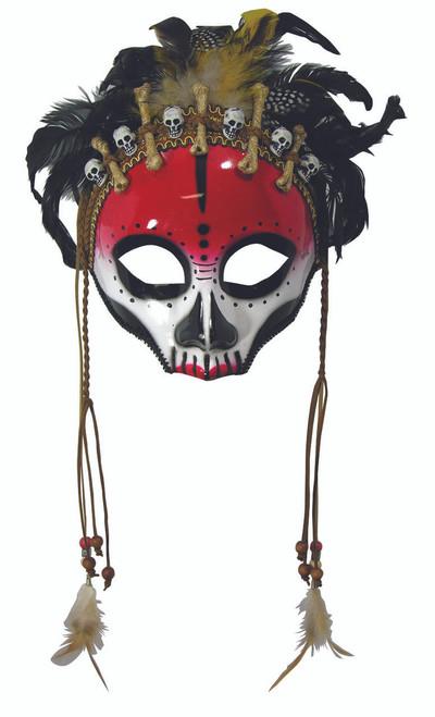 Voodoo Face Mask Mardi Gras Sunglasses Style