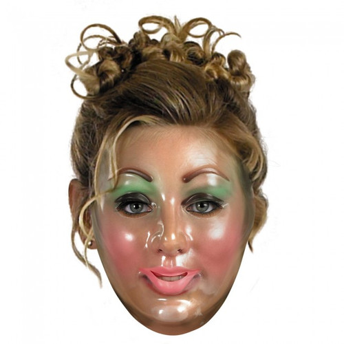 Transparent Woman Mask