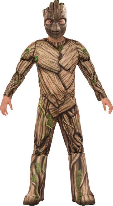 Guardians of the Galaxy Licensed Groot Kids Muscle Chest Costume