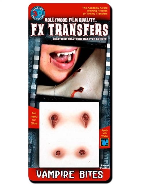 FX Transfers Latex Free Vampire Bites Self Adhesive