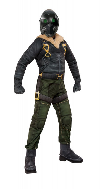 Spider-man Homecoming Licensed Kid's Deluxe Vulture Costume