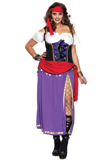 Leg Avenue Traveling Gypsy Ladies Plus Costume
