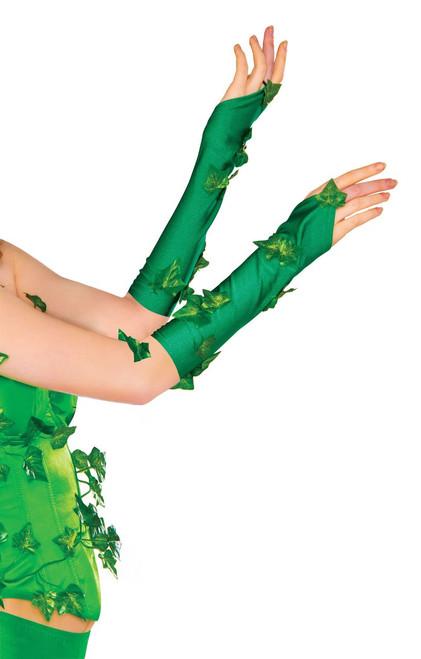 Batman Licensed Poison Ivy Glovelets Adult Size DC Comics