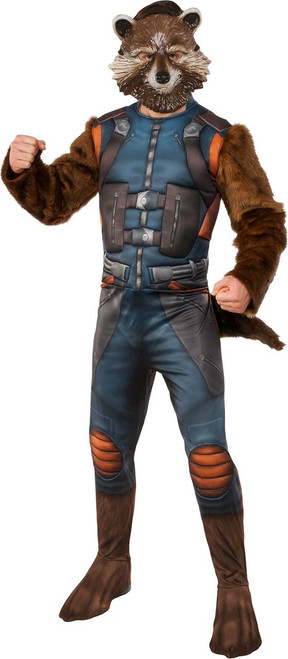Guardians of the Galaxy 2 Licensed Adult Rocket Raccoon Deluxe Costume