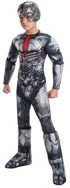 Justice League Licensed Cyborg Kid's Costume DC