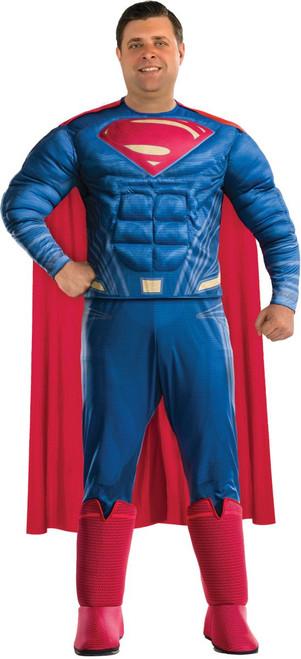 Justice League Licensed Adult Superman Plus Size Costume