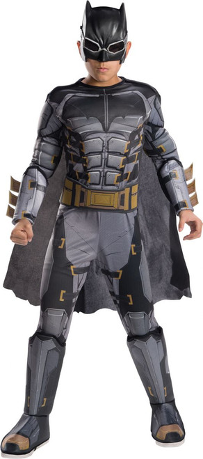 Justice League Licensed Kid's Deluxe Tactical Batman Costume