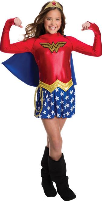 DC Comics Licensed Kid's Wonder Woman Costume