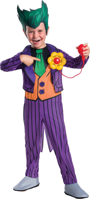 DC Comics Licensed Deluxe Joker Kid's Costume
