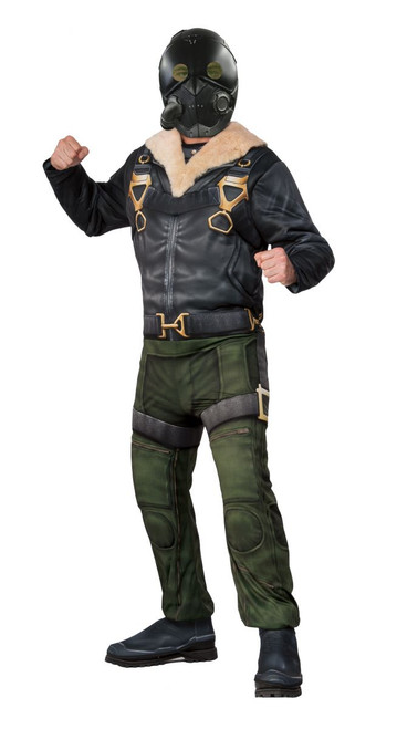 Spider-Man Homecoming Licensed Vulture Adult Deluxe Muscle Chest Costume
