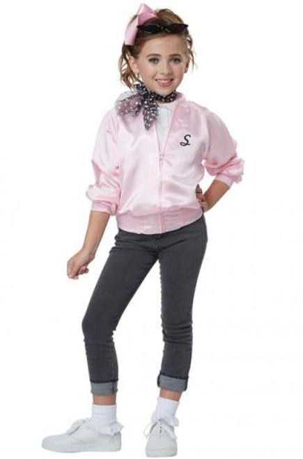 50's Satin Kid's Varsity Jacket