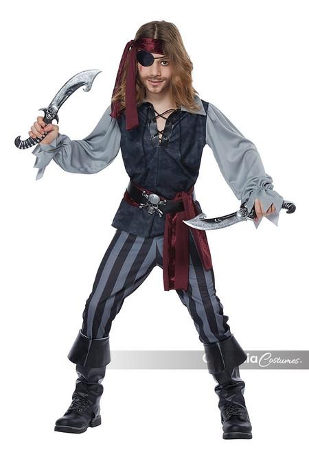 Sea Scoundrel Kid's Costume
