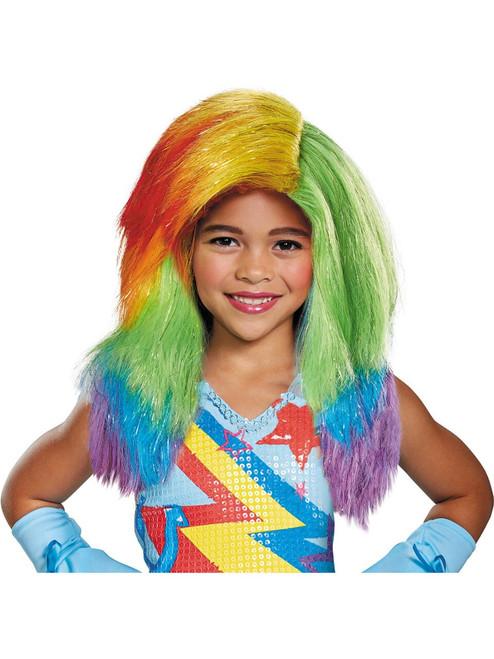 My Little Pony Girl's Rainbow Dash Licensed Movie Wig