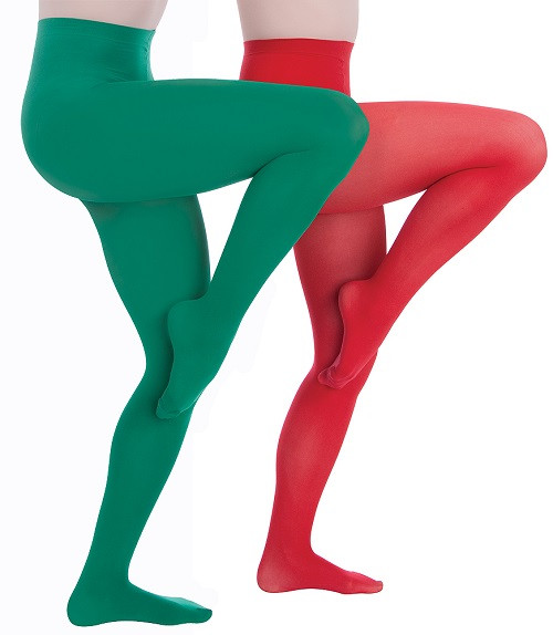 Body Wrappers Total Stretch Full Footed Tights