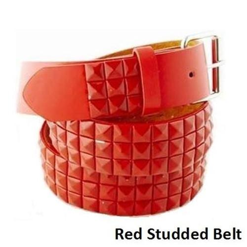 Red Studded Belt