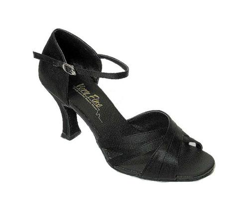 "Ballroom Shoe Size 8.5 Black 2.5"" Heel"
