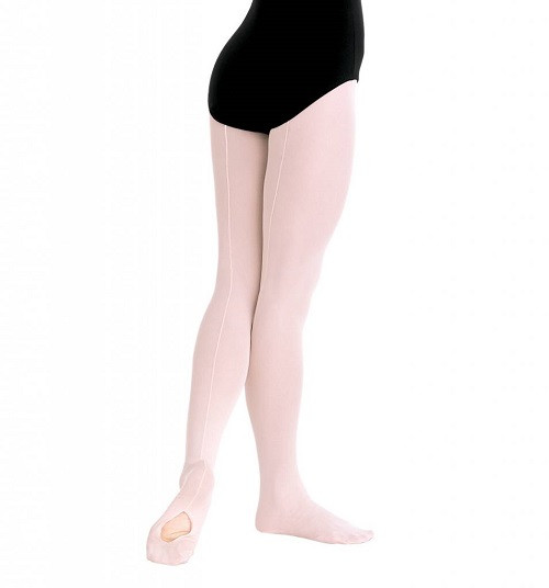 Body Wrappers Professional Backseam Convertible Foot Tights C45