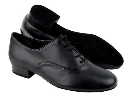 """Men's Patent Black Ballroom Shoe 1.5"""" Heel"""
