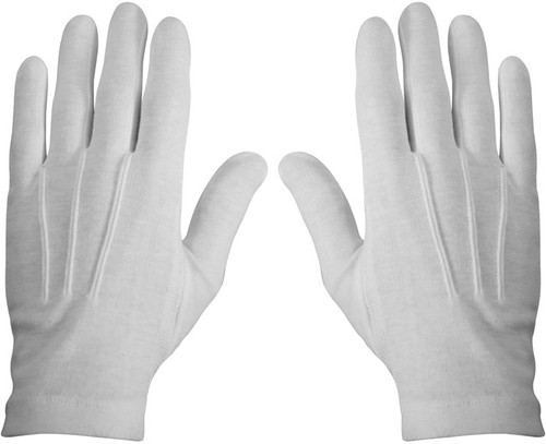 Cotton Glove Military Style Lines