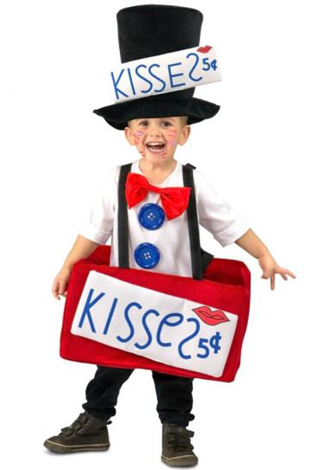 Kissing Booth Kid's Costume