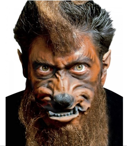 Latex Appliance Werewolf Face Set Woochie