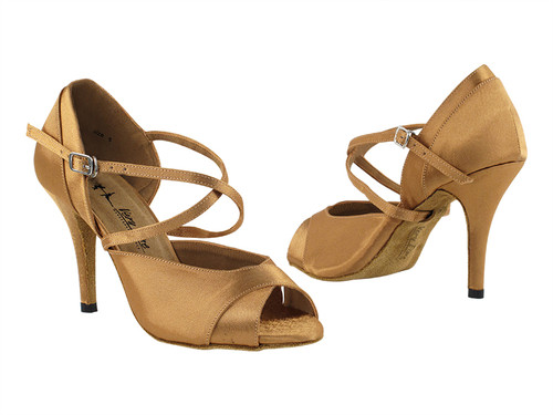 """Satin 3.5"""" Stiletto Heel Ballroom Shoe"""