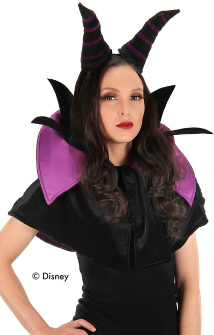 Maleficent Horns & Cape