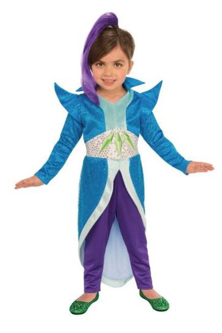 Shimmer and Shine Licensed Zeta Kid's Costume