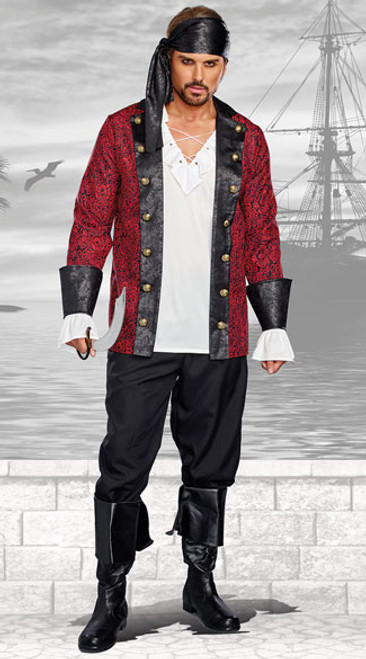 Holy Ship! Pirate Men's Costume