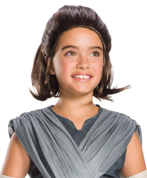 Star Wars Kids Rey Wig 6+