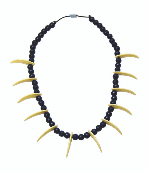 Saber Tooth Necklace Stone Age Style Jewelry