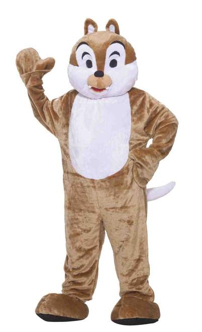 Chipmunk Mascot Deluxe Plush Fur Costume