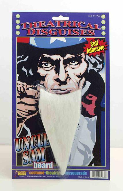 Uncle Sam Goatee / Beard with Self-adhesive tape