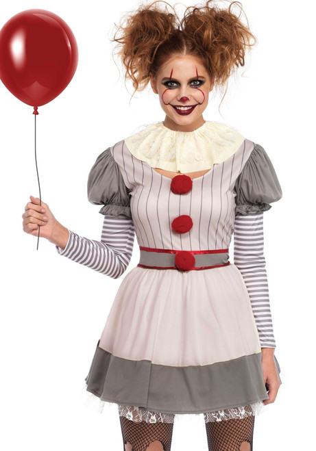 Leg Avenue Creepy Clown Ladies Costume