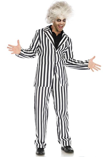 Beetle Boss Mens 2 PC Striped Suit