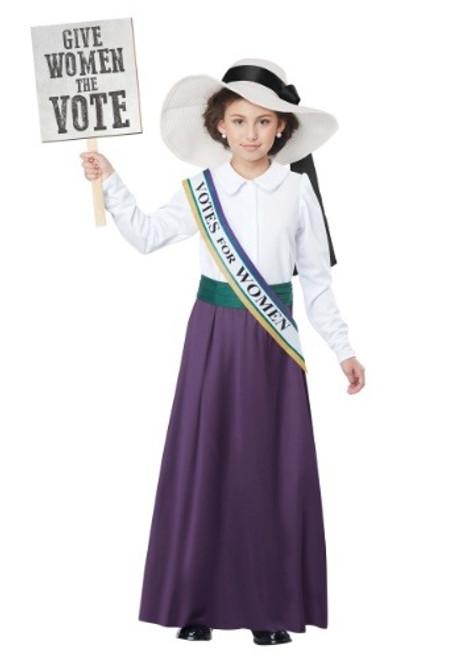 American Suffragette Kids Costume