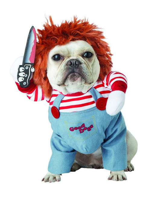 Deadly Doll Pet Costume Chucky