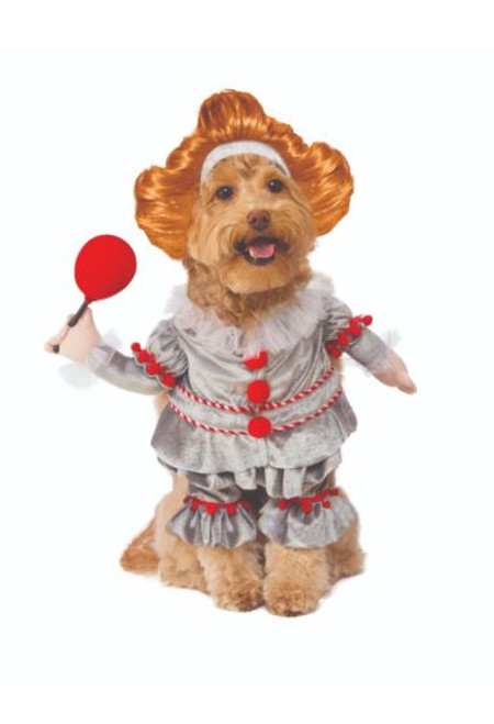 Walking Pennywise Pet Costume Licensed IT