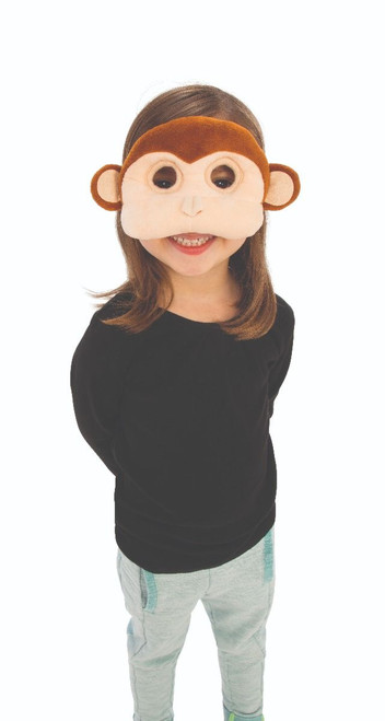 Monkey Plush Mask