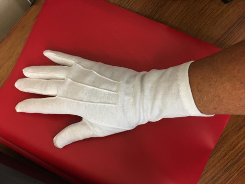 Long wristed cotton gloves (lwc100)