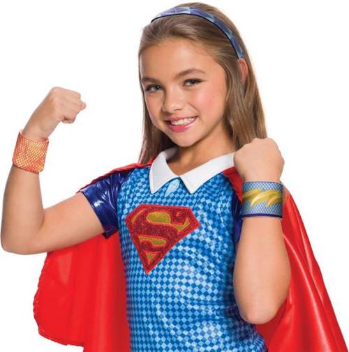 Supergirl Accessory Kit Headband & Wrist Bands