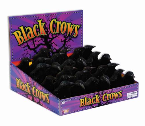 "black crow 5"" tall prop"