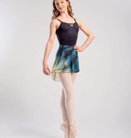 SoDanca Patterned Wrap Skirt