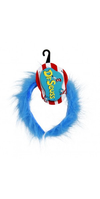 Dr. Seuss Cat in the Hat Thing 1 & 2 Fuzzy Headband