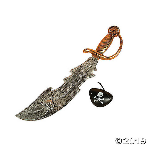 Pirate Sword with Eye Patch