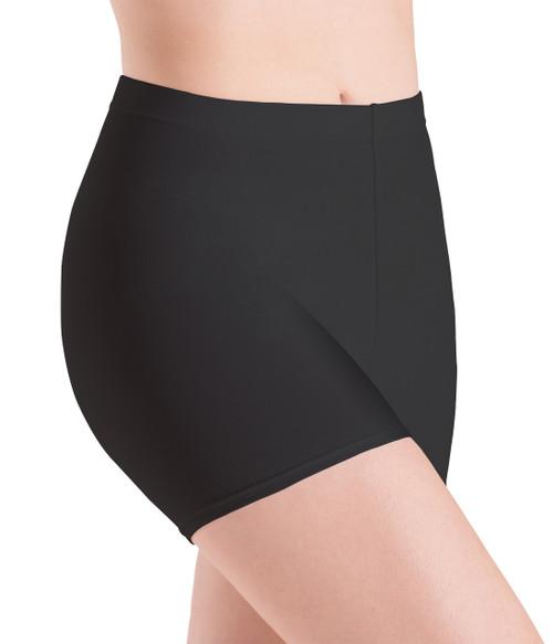 Motionwear Micro Shorts Black Silkskyn Womens