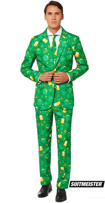 St. Patrick's Day Suit Mens